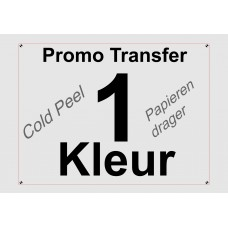 Promo Cold Peel Transfer 1 Kleur