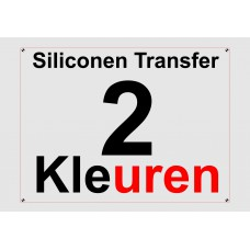 Siliconen 2 Kleuren Transfer
