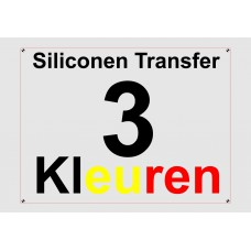Siliconen 3 Kleuren Transfer