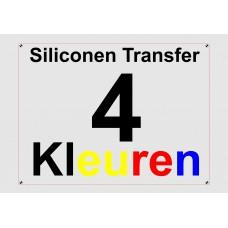 Siliconen 4 Kleuren Transfer