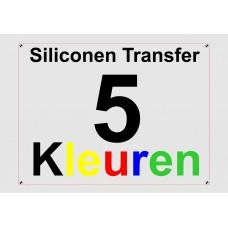 Siliconen 5 Kleuren Transfer