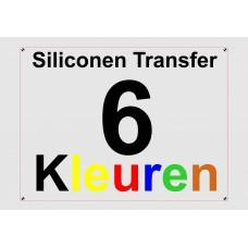 Siliconen 6 Kleuren Transfer