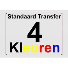 Standaard 4 Kleuren Transfer