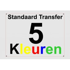 Standaard 5 Kleuren Transfer