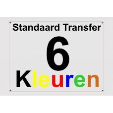 Standaard 6 Kleuren Transfer